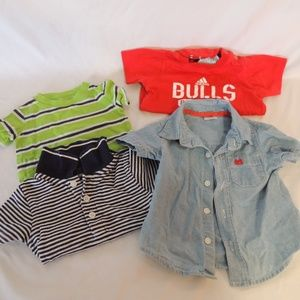 lot of boys shirts size 3 mos